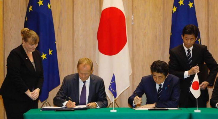 ЕС и Япония запустили самую большую в мире Зону свободной торговли